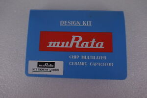 Murata Kit Grm708 Erb21 Chip Multilayer Ceramic Capacitor Design Kit