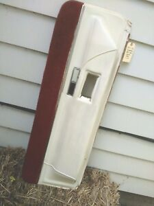 1970 s Cadillac Eldorado White Lower Door Pad Panel passenger Looks Great
