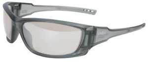 Uvex A1500 Safety Glasses With Matte Gray Frame And Sct Reflect 50 Lenses