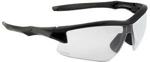 Uvex Acadia Safety Glasses With Black Frame And Clear Xtr Anti fog Lenses