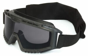 Uvex Xmf Tactical Goggle With Black Frame And Gray Ds Lens