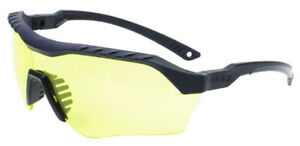 Uvex Xmf Tactical Safety Glasses With Black Frame And Amber Ds Lens