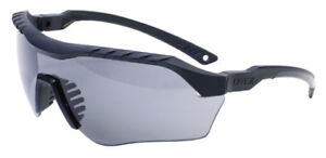 Uvex Xmf Tactical Safety Glasses With Black Frame And Gray Ds Lens