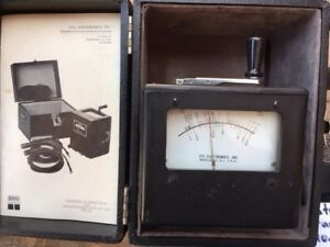 Jfc Mini 500 Ohmmeter In Original Case And In Good Condition Used As Is
