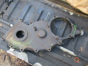 John Deere 7520 Tractor Timing Gear Front Cover R48835 Free Ship 6030 8640 8650