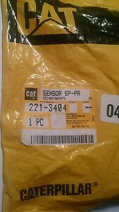 Caterpillar Genuine Pressure Sensor Part 221 3404 New Cat