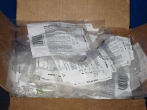 Hospira Pca 10 In Extension Sets Lot Of 45 Pump Iv Infusion Valves
