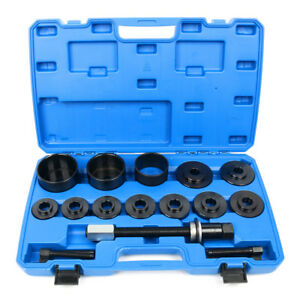 19 Piece Front Wheel Hub Drive Bearing Puller Removal Install Service Master Kit
