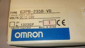 new Omron G3pb 235b vd Dc12 24v Module Plc Solid State Relay In Box