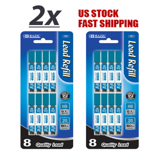 Lot Of 2 Lead Hb 0 7mm High Quality Mechanical Pencil 160 Leads Per Pack
