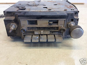 1978 1979 Gm Delco Factory A M Fm W Cb Radio Non Working