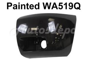 Painted Wa519q Front Bumper End Cap Lh For 2008 2010 Chevy Silverado 1500 W Fog
