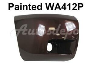 Painted Wa412p Front Bumper End Cap Rh For 2008 13 Chevy Silverado 1500 W fog Ho