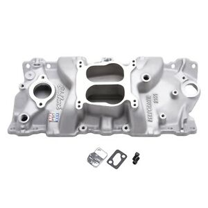 Edelbrock 2101 Performer Series Intake Manifold Cast Non Egr Idle 5500rpm