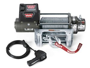 Warn 28500 Xd9000 Portable Winch 8000 Pound Line Capacity 100 Ft Wire Rope
