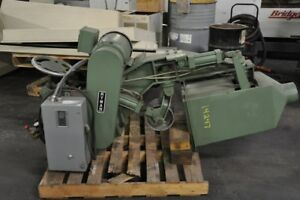4 Ryman 507a 4 10 Hp 3 Phase 60 Cycle Belt Grinding Polishing Attachment