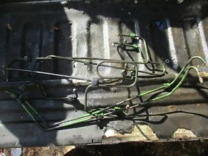 John Deere 7520 Tractor 4x4 6 Cylinder Diesel Fuel Lines Free Shipping