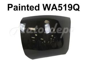 Painted Wa519q Front Bumper End Cap Lh For 2008 10 Chevy Silverado 1500 W o Hole