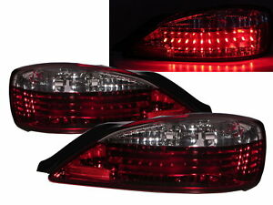 Silvia S15 200sx 1999 2002 2d Led Tail Rear Light Red White For Nissan