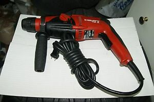 Hilti Te 2 Rotary Hammer Drill With Reverse 2 New Ansi Bits 3 4 And 7 8 Germany