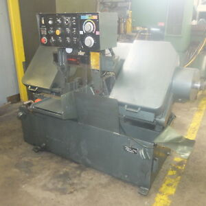 Marvel Spartan 13 X 14 Automatic Horizontal Band Saw Pa 13