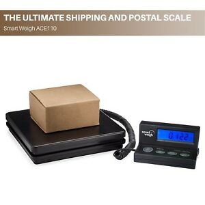 Digital Shipping Scale Usps Postal Weight Scale Wide Platform 110 Lbs X 0 1 Oz
