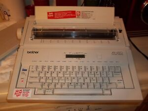 Brother Electronic Typewriter This Thing Is Awesome Tested And Ready To Go