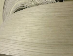 White Oak Wood Veneer Edgebanding 4 3 4 X 120 With Preglued Adhesive 4 75