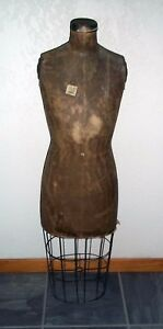 J r Palmenberg s Son Dress Form Mannequin With Wire Cage Skirt vintage