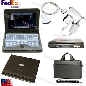 Portable Laptop Diagnostic Ultrasound Scanner Machine 3 5 Convex