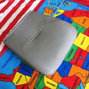2003 09 Ford F 250 Pickup Work Truck Driver Side Bottom Vinyl Seat Cover Gray