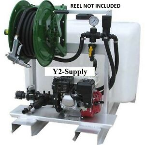 New 100 Gallon Deicing Sprayer 12v 7870 Pump 75 Of 1 2 Hose