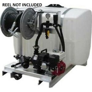 New 200 Gallon Deicing Sprayer 12v 7870 Pump 75 Of 1 2 Hose
