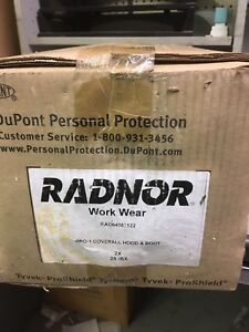 Dupont Radnor Work Wear Pro 1 Painters Coveralls Box Of 25 Great Costume Idea