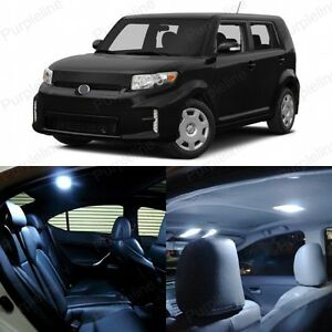 8 X White Led Interior Lights Package For 2008 2015 Scion Xb Bb Pry Tool