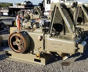 Arrow Engine Company L 795 65hp Natural Gas Engine New Surplus