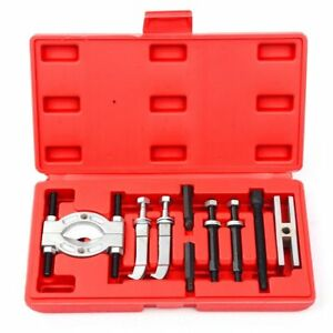 Mini 9pc Bearing Puller Separator Set 30 50mm Pull Out Jaw Gear Pulley Removal