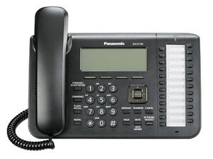 Panasonic Kx ut136 Sip Phone 3 Line Display