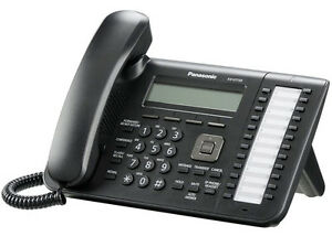 Panasonic Kx ut133 Sip Phone 3 Line Display