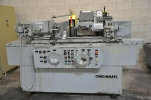 10 X 30 Cincinnati R 75 400 Rpm 4 Hp 60 Cycle Universal Cylindrical Grinder