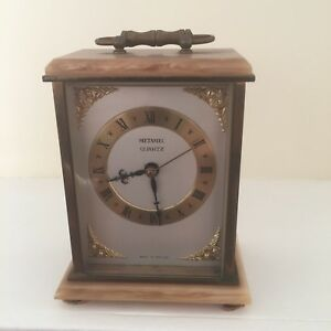 Late 19th Century Modern Carriage Clock Reproduction