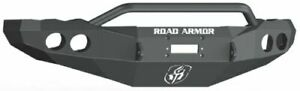 Road Armor 44044b Front Black Pre Runner Guard Winch Bumper For 03 05 Ram 2500