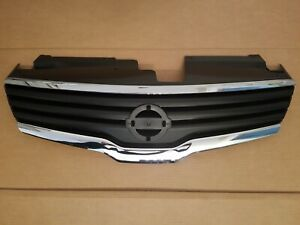 Fits 2007 2009 Nissan Altima 4door Sedan Front Bumper Grille W Chrome Trim New