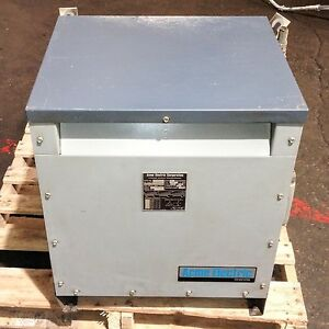 Acme Electric Corporation Tt bd 3500030 35 30kva 3 Phase Power Transformer