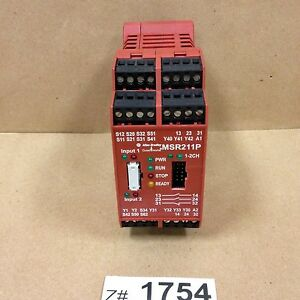 Allen Bradley Msr211p Series B Guard Master Safety Relay
