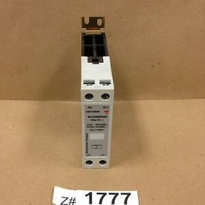 lot Of 4 Carlo Gavazzi Rj1a23d20u Solid State Relay With Heatsink 20a 4 32vdc