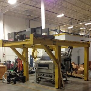 Chester Hoist 3 ton Fixed Gantry Crane With Motorized Trolley And Electric Hoist
