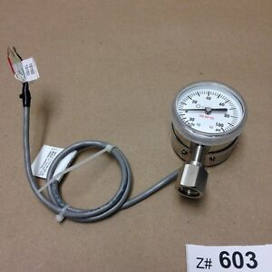 Celerity Ipt122 30 0 100 Psi Pressure Gauge With Female Vcr Fitting