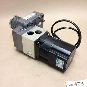 Tamagawa Seiki 4512n4021e200 Tbl i Series Ac Servo Gear Motor 5 1 Turn Ratio