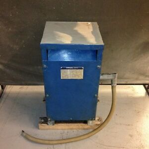Sorgel Electric Corp 25s3h Single Phase Transformer 25kva 240 480 120 240